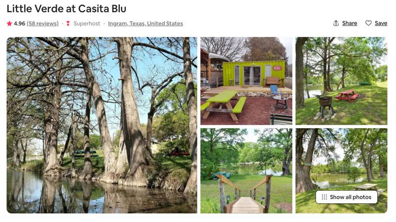 Casita Blu - Little Verde